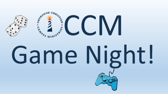 OCCM Game Night Banner